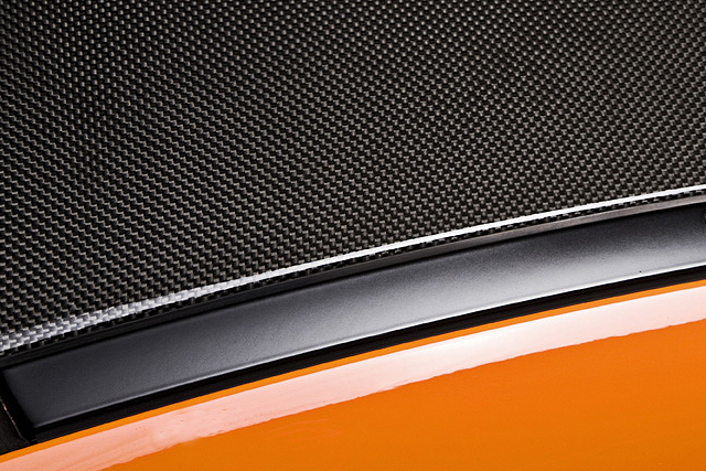 carbon fiber roof