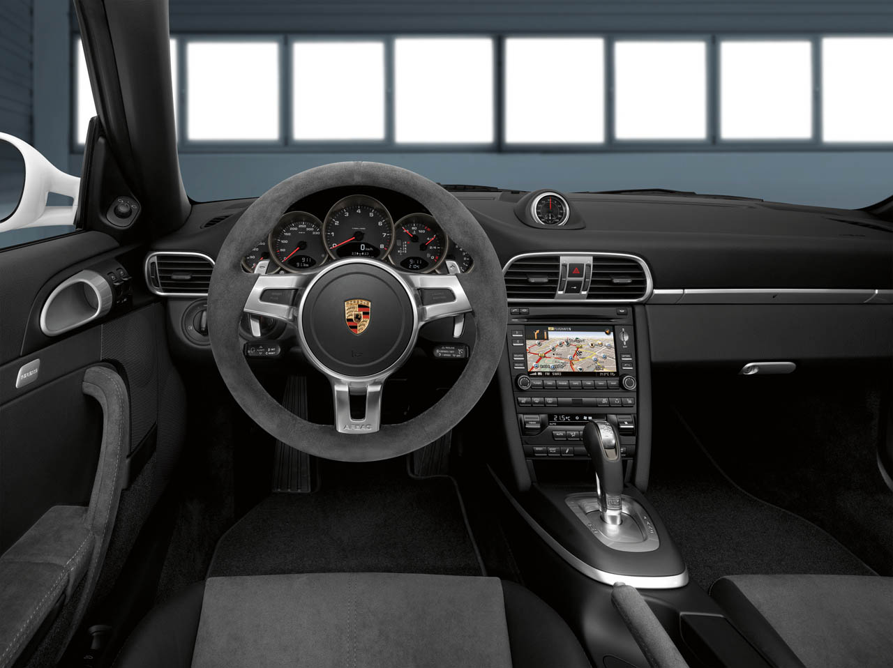 2011 Porsche Carrera GTS Interior