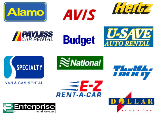 Car rentals companies located at lax airport