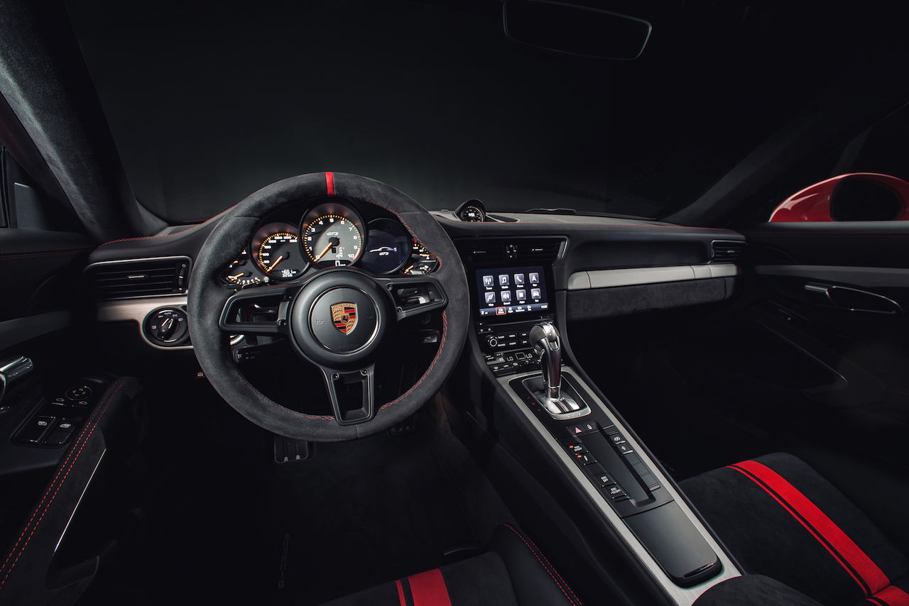 911 GT3-37 Interior Driver_s View